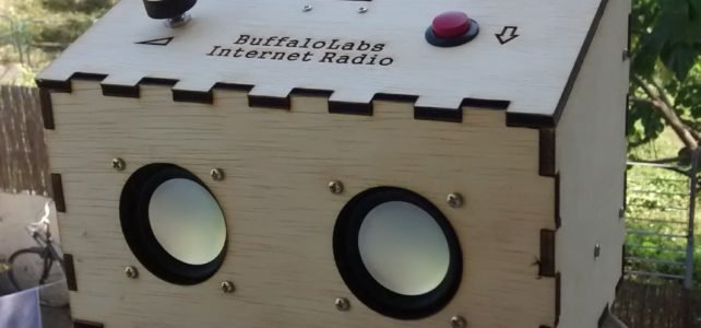 ESP8266 portable Internet radio