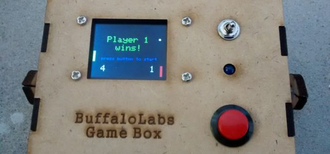 Pong and Gyro Game Box (Arduino)