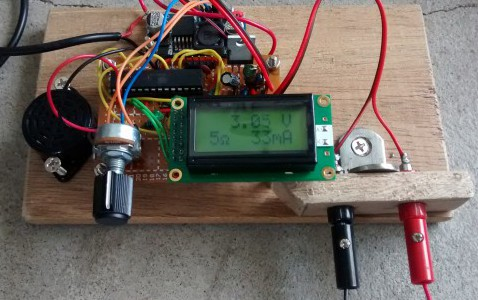 Digital power supply (bare bones Arduino)