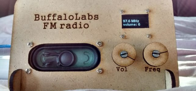 Arduino FM radio (with SIM800)